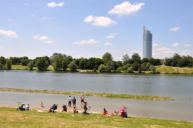 Donauinsel Baden Familie