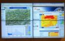 hochwasserzentrale-videowall