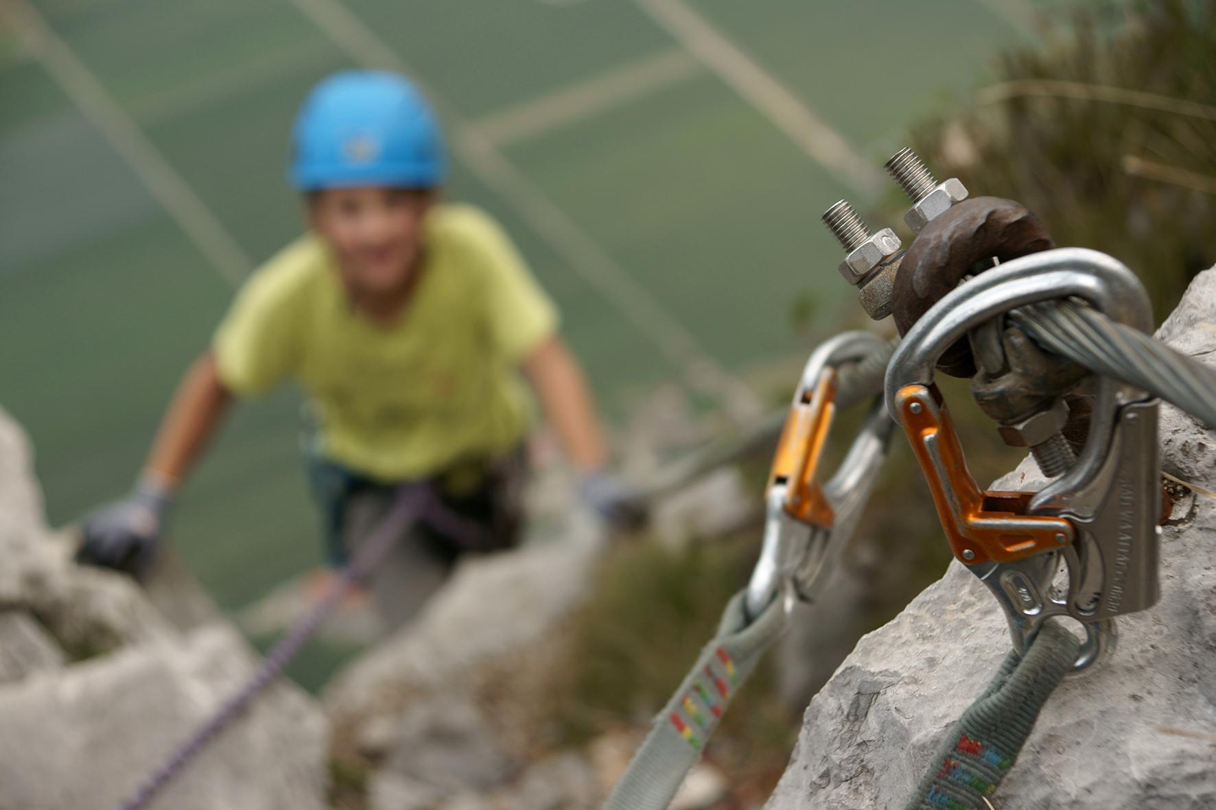Klettergurt Klettersteig : Kinder am klettersteig empfehlungen des alpenvereins