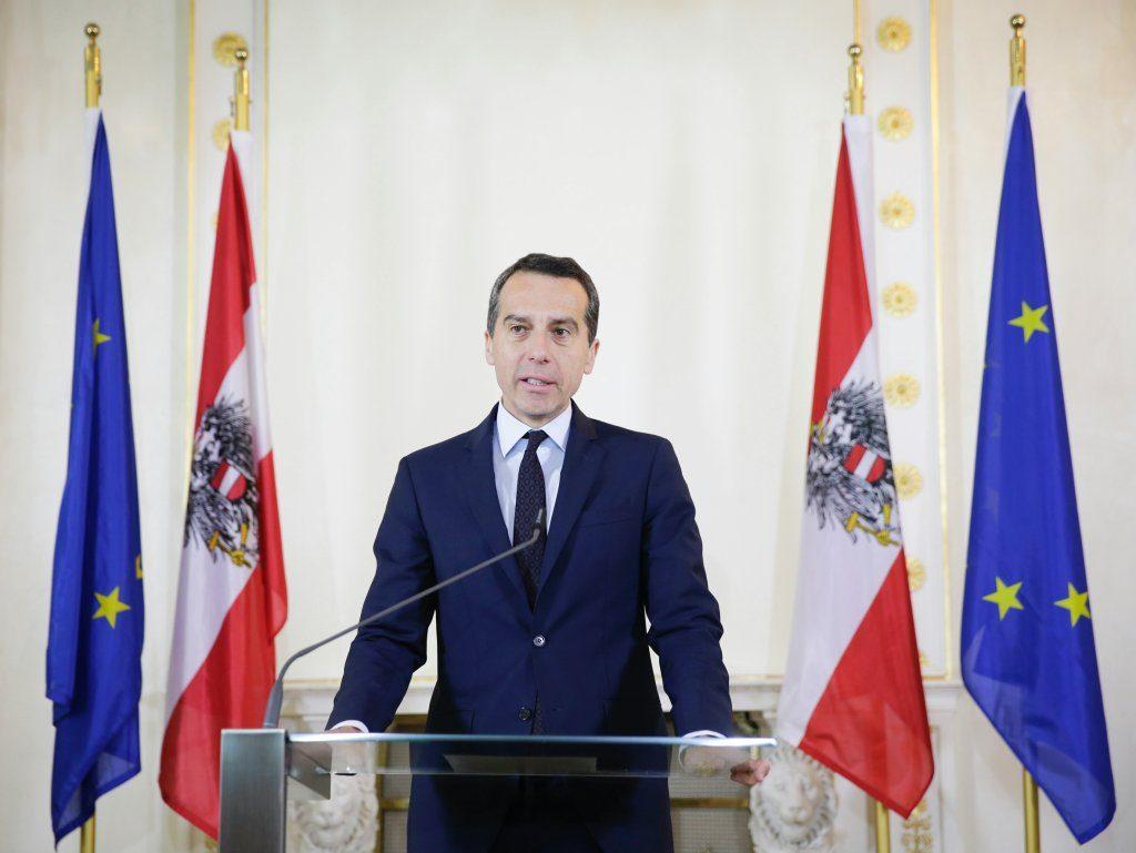 Bundeskanzler Kern Stellungnahme Bundespräsidentenwahl