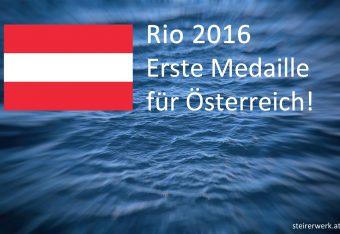 Rio 2016 Österreich Medaille