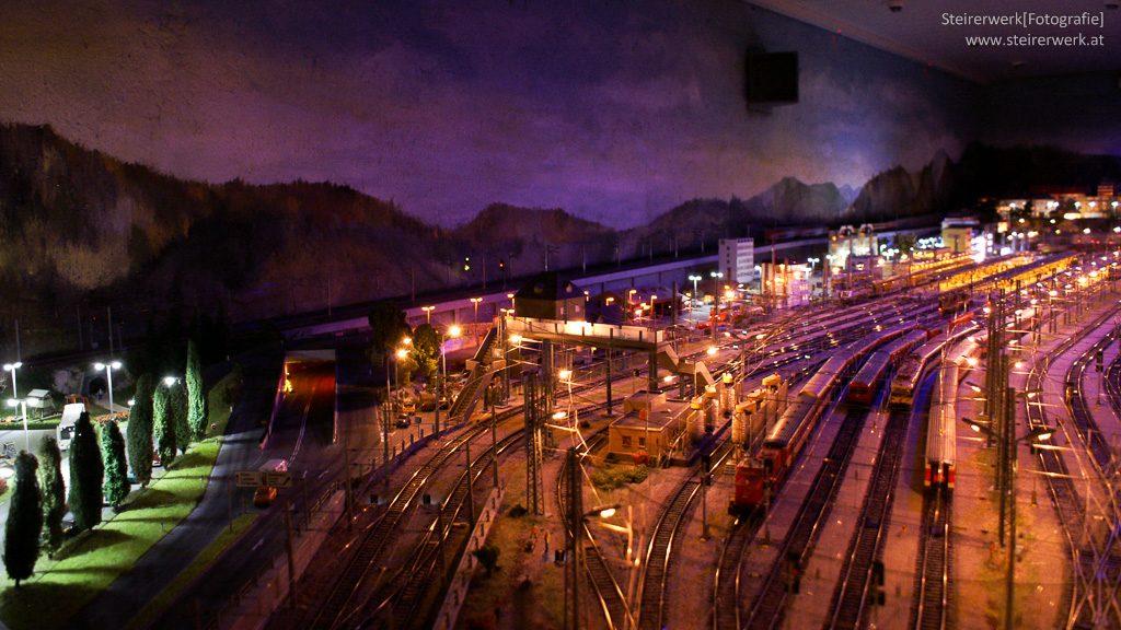Modelleisenbahn Beleuchtung