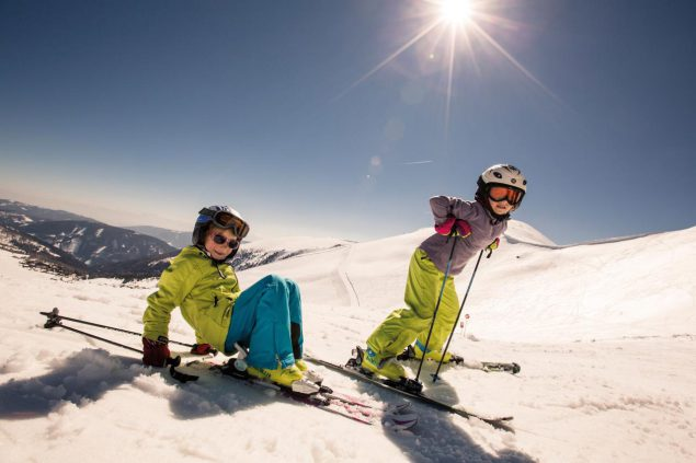 Skifahren in Kärnten Kinder