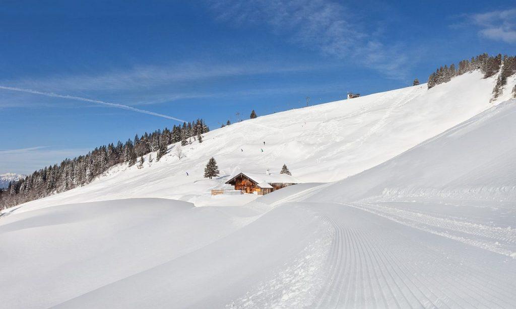 Schneelandschaft Gaissau Hintersee