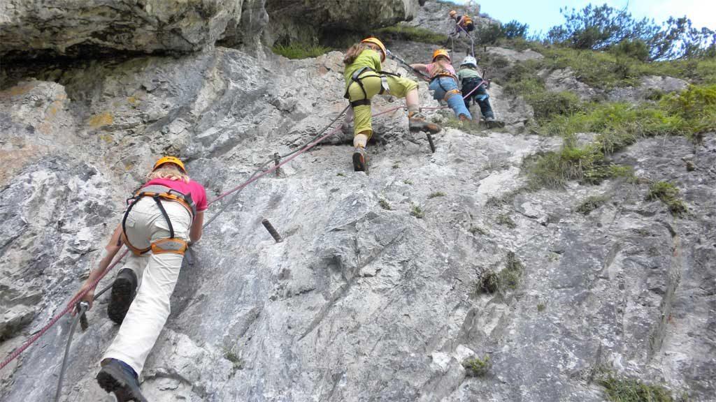 Kinder Jugendklettersteige Ramsau am Dachstein