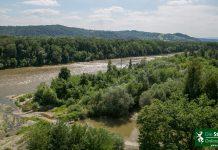 Fluss Steiermark Hochwasserschutz