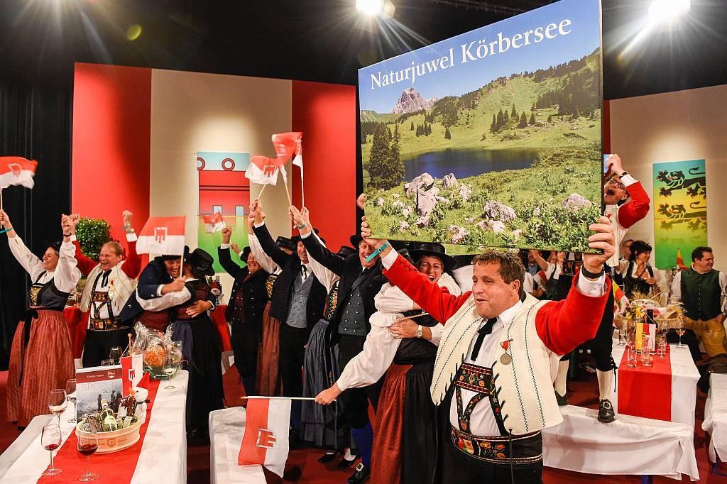 Körbersee in Vorarlberg gewinnt 9 Plätze 9 Schätze