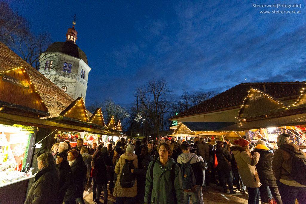 Weihnachtsmarkt Schlossberg Graz