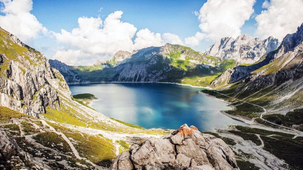 Der Lünersee in Vorarlberg gewinnt 9 Plätze - 9 Schätze 2019