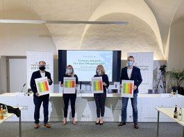 Corona Ampel Pflegebereich Steiermark